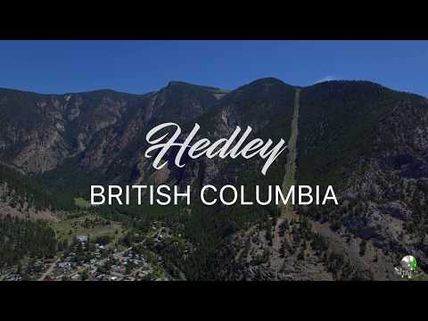British Columbia - Hedley, Tulameen Drone Video