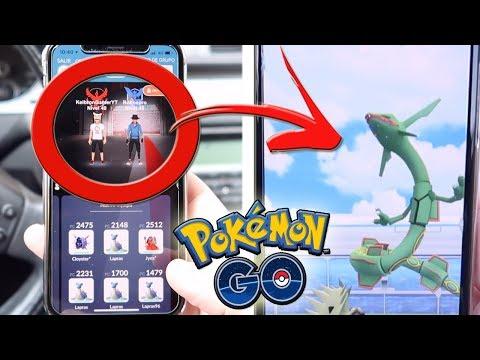 ¿¡PODREMOS GANAR a RAYQUAZA SOLO 2 ENTRENADORES en Pokémon GO!? [Keibron]