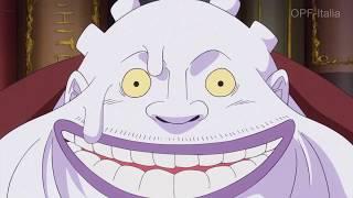 Luffy sfida big mom seduta stante