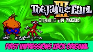 Toejam and Earl 3 Mission To Earth First Impressions (Xbox Original)