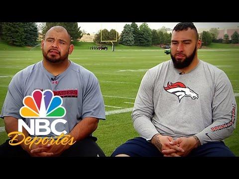 Camino al Super Bowl XLVIII - Manny Ramírez y Louis Vásquez | Deportes Telemundo | NBC Deportes