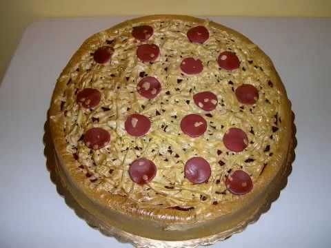 Cake Decorating Ideas Pizza : Sonic Says