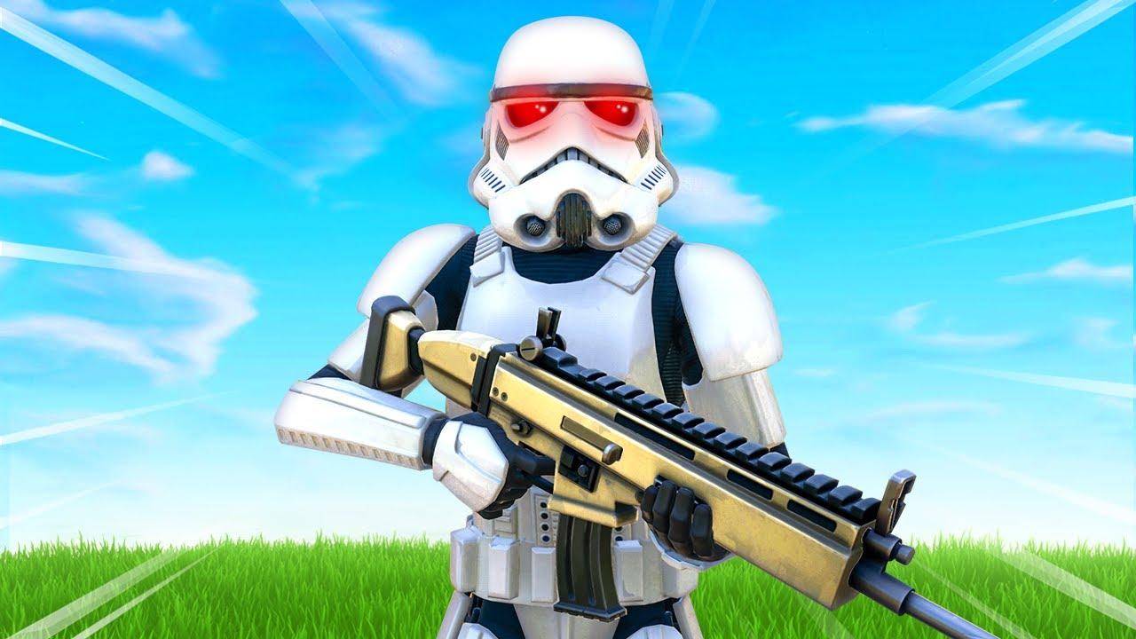 The Stormtrooper Challenge In Fortnite Dailytube