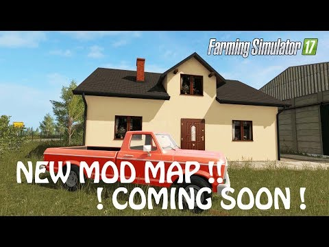 NEW MAP MOD in Farming Simulator 2017 | STILL TESTING THO | COMING SOON | PC | PS4 | Xbox One