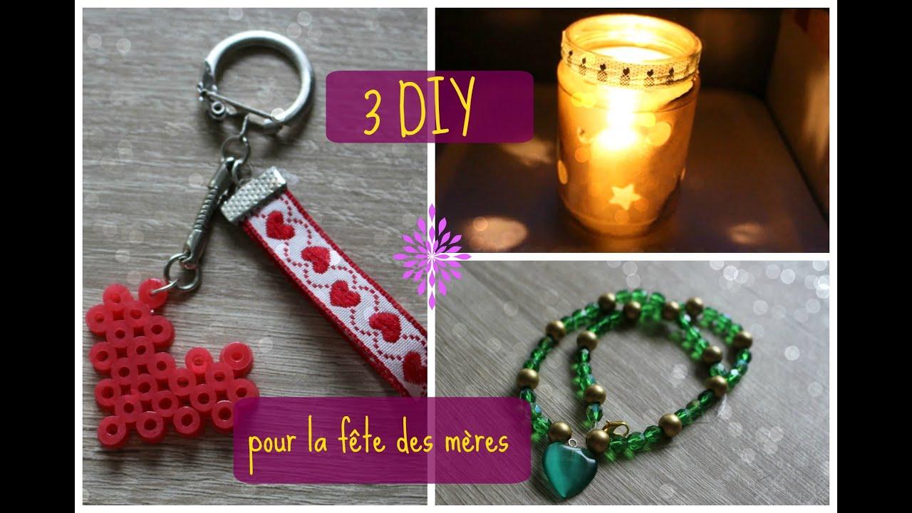 Diy 3 id es de cadeaux 39 fait maison 39 pour votre maman youtube - Cadeau fait main pour son amoureux ...