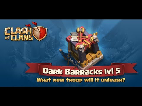 Clash of clans - New Dark barracks, Lvl 6 WB and more!!!