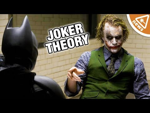 Why Patton Oswalt's Dark Knight Joker Theory Will Blow Your Mind! Nerdist  w Jessica Chobot