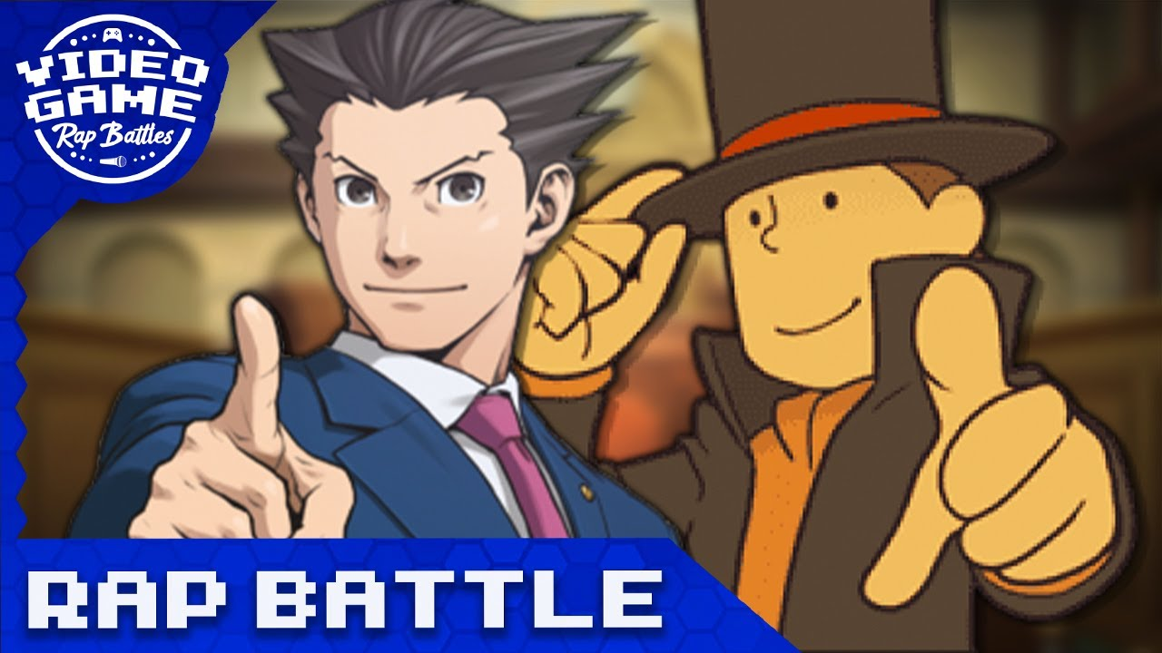 Professor Layton vs. Phoenix Wright - Video Game Rap Battle (ft. Rustage)