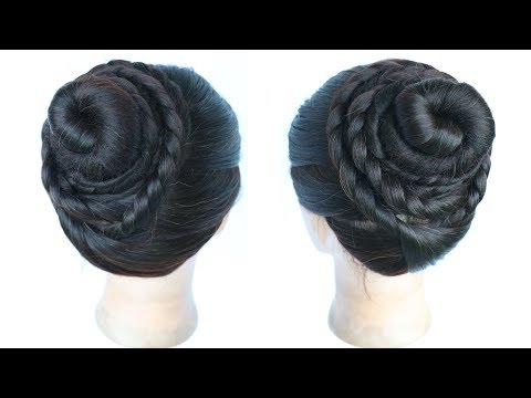 Very Easy And Simple Juda Hairstyle For Everyday Hair Style Girl