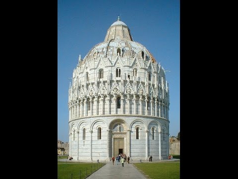 HS S01E07 - Pisa, Unknown Facts on the Tower, the Baptistery. Listen to the eerie Echos