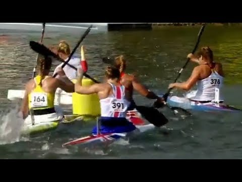 2017 ICF Canoe Sprint World Championships, Racice, Woman's K-1 5000m Final A and Ceremony.