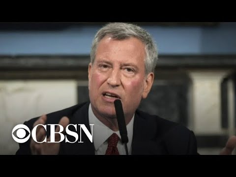 NYC Mayor Bill de Blasio to announce 2020 presidential bid