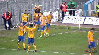 5-0 Mitch Rose scores against Notts County, 16Apr2016