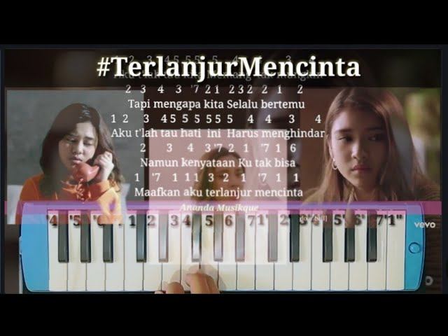 Not Angka Pianika Terlanjur Mencinta Tiara Andini Lyodra Mengapa Kita Ziva Tak Sanggup Melupa Youtube