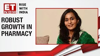 Robust growth in pharmacy | Suneeta Reddy of Apollo Hospitals to ET NOW