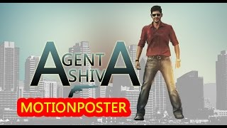 Mahesh babu new movie agent shiva motion poster || ar murugadoss