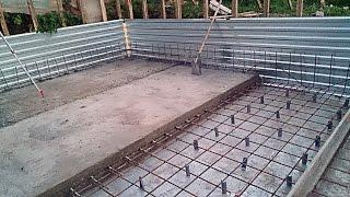 BC: Плитный фундамент. Листовая гидроизоляция подвала. Загадка №1(В видео показан процесс строительства плитного фундамента на примере подвал. Подробно рассказано про арми..., 2014-09-12T14:42:17.000Z)