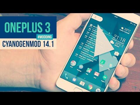 CyanogenMod 14.1 Nougat 7.1 OnePlus 3 | Anteprima HDblog