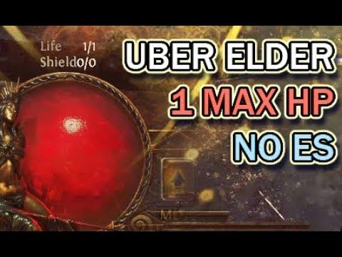[PoE 3 2] 1 Max HP vs Uber Elder
