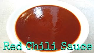 Enchilada Sauce - Made from Scratch with Large Chilis - PoorMansGourmet