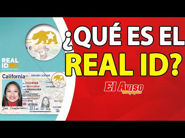 ¿Qué es el REAL ID? ¿Quién lo necesitará? y ¿Cuáles son los requisitos? - El Aviso Magazine