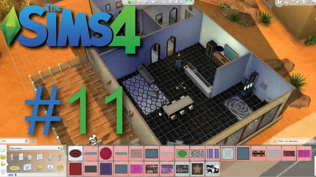 Sims4   nouvelle cuisine, nouveau salon et salle de sport !   ep11 ...