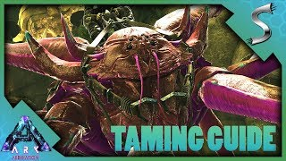 KARKINOS TAMING GUIDE! HOW TO TAME, TAMING TRAP + WHAT CAN IT GRAB? - Ark: Aberration [DLC Gameplay]