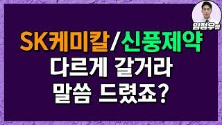 [임정우] SK그룹주는 지속상승. 신풍제약은 고점일까?…