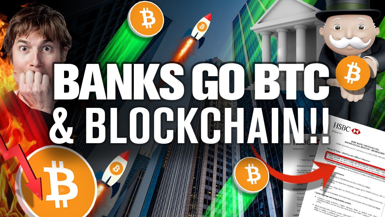 Don't be FOOLED! BTC's the FUTURE! Banks Know It! Do You!?