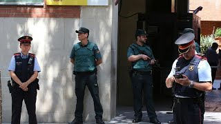 Spanish government and Catalonia clash over control of regional police
