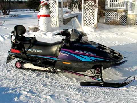 Classic Yamaha Snowmobiles