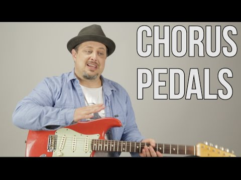 How to Get an 80's Sound On Guitar - Guitar Gear Pedals - Chorus Line 6 Effects Pedal