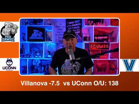 Villanova vs UConn 2/20/21 Free College Basketball Pick and Prediction CBB Betting Tips