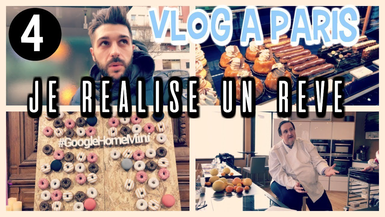 vlog a paris 4 cours avec conticini patisserie cyril lignac soir e google youtube. Black Bedroom Furniture Sets. Home Design Ideas