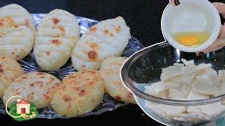 Pãozinho de Tapioca Feito em Minutos, para Tomar no Lanche e no Café