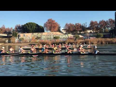 Pacing with Durham University Boat Club, Seville 2017