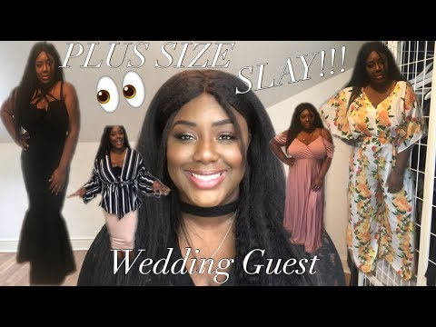 44508148e83 Sorry for the long wait but I am back again with some plus size wedding  guest outfit ideas that I hope will help all my ladies as these events  start ...