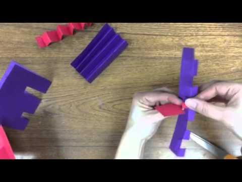 Paper Sculpture Techniques - YouTube