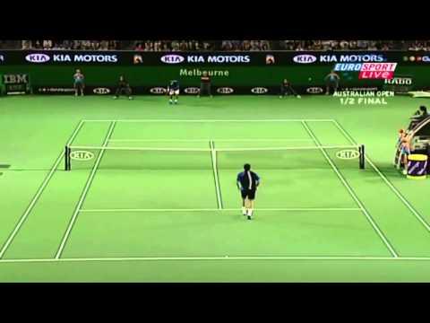 Australian Open 2005: Federer - Safin (SF) Highlights