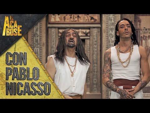 El Cigala y er Richa (Pablo Nicasso)  arquitectos del Faraón | El Acabose