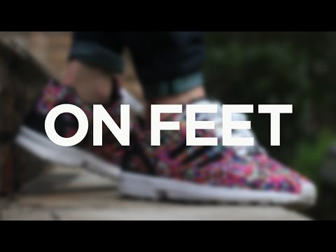 8419b8363 ON FEET  Adidas ZX Flux -