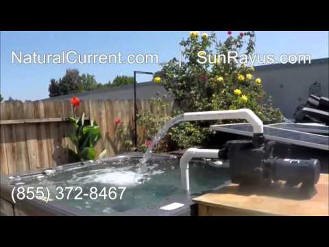 Solar Powered Pool Spa Pond Pump System $1,329 (DIY) Do It Yourself Solar Powered Water Pump