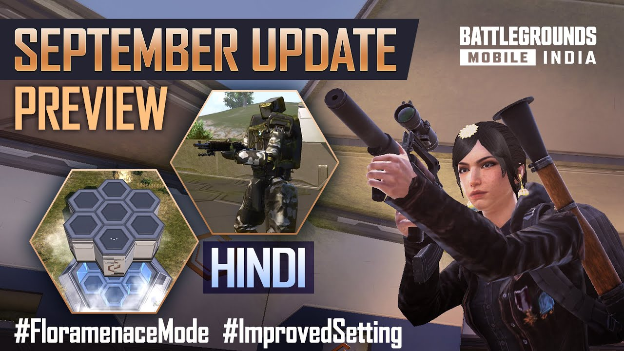 Download [HINDI] 1.6.0 September Update Patch Notes Preview - BATTLEGROUNDS MOBILE INDIA 🇮🇳