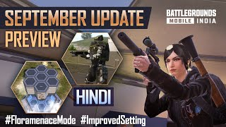 [HINDI] 1.6.0 September Update Patch Notes Preview - BATTLEGROUNDS MOBILE INDIA