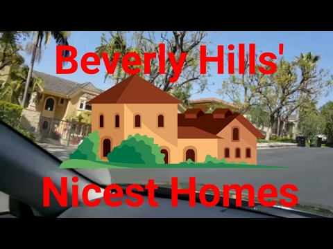 2017 Los Angeles Driving Tour: Only The Best! Beverly Hills' Nicest Homes & Fashion Stores