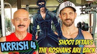 HRITHIK ROSHAN'S KRRISH 4   OFFICIAL WORK BEGINS   SHOOT DETAILS