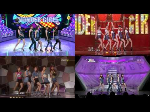 [Full HD] Wonder Girls - 2 Different Tears - 4in1