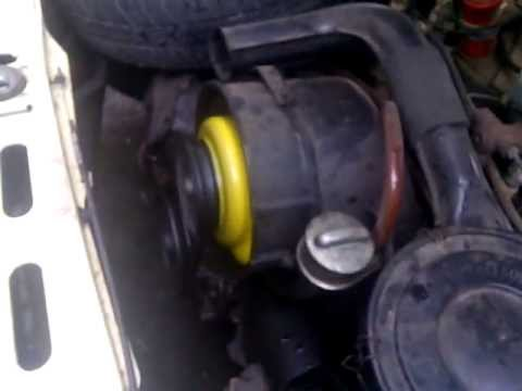 Funcionamento Gol S 1983/1984 - Motor Frio