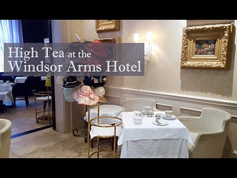 Family Travel Windsor Arms Hotel High Tea Experience