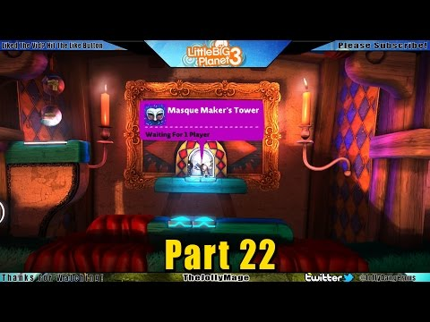 little-big-planet-3-walkthrough-gameplay-part-22---masque-maker's-tower---thejollymage